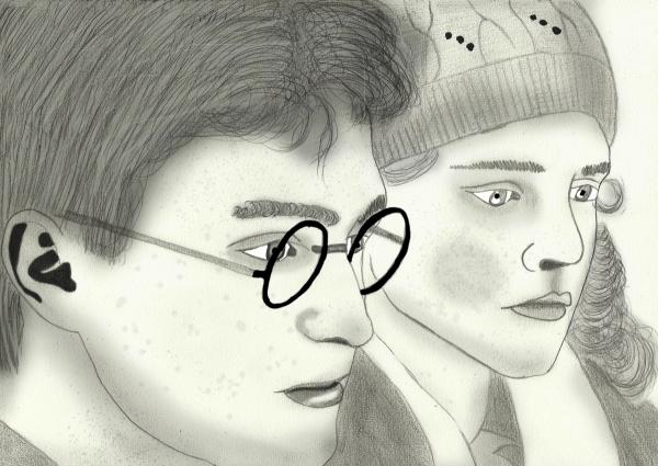 Emma Watson, Daniel Radcliffe by merytamon